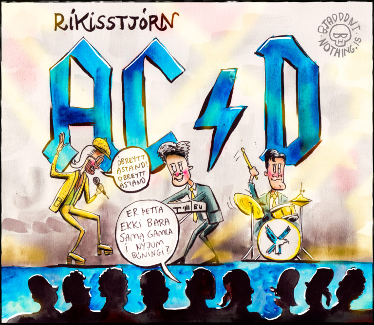 Ríkisstjórn XA, XC og XD - AC/D